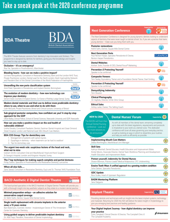 Highlights From the BDA