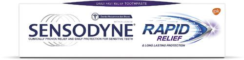 New CPD module available online for Sensodyne Rapid Relief